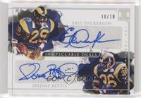 Eric Dickerson, Jerome Bettis /10