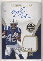 Rookie Patch Autograph - Nyheim Hines #/50