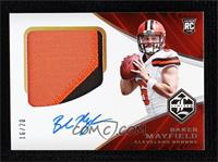 Rookie Patch Autograph Variation - Baker Mayfield #/20
