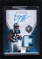 Rookie Patch Autograph - DJ Moore [Uncirculated] #/75