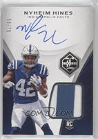 Rookie Patch Autograph - Nyheim Hines #/75