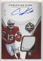 Rookie Patch Autograph - Christian Kirk #/99