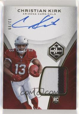 2018 Panini Limited - [Base] #108 - Rookie Patch Autograph - Christian Kirk /99