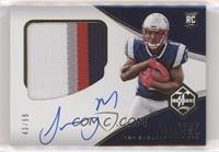 Rookie Patch Autograph Variation - Sony Michel #/99