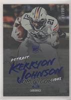 Rookies - Kerryon Johnson #/99