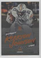 Rookies - Kerryon Johnson #/225