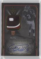 Rookie Scripted Swatches - Calvin Ridley #/25