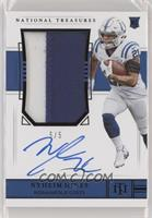 Rookie Patch Autograph - Nyheim Hines /5