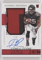 Rookie Patch Autograph - Ito Smith #/5
