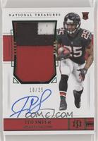 Rookie Patch Autograph Jersey Number - Ito Smith #/25