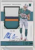Rookie Patch Autograph Jersey Number - Mike Gesicki #/86