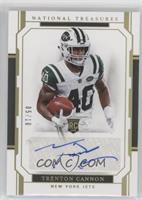 Rookie Signatures - Trenton Cannon #/10