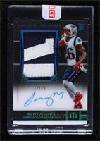 Rookie Patch Autograph - Sony Michel [Uncirculated] #12/20