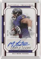 Rookie Signatures Jersey Number - Mark Andrews #/89