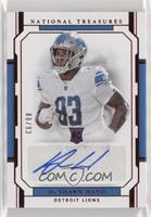 Rookie Signatures Jersey Number - Da'Shawn Hand /93