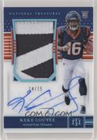 Rookie Patch Autograph - Keke Coutee #/15