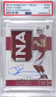 Rookie Patch Autograph - Josh Rosen [PSA 9 MINT] #/99
