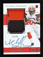 Rookie Patch Autograph - Nick Chubb #53/99