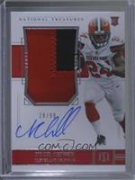 Rookie Patch Autograph - Nick Chubb #28/99