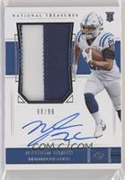 Rookie Patch Autograph - Nyheim Hines [Noted] #/99