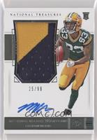 Rookie Patch Autograph - Marquez Valdes-Scantling [Noted] #/99