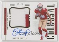 Dante Pettis #/25