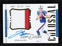 Josh Allen #8/25