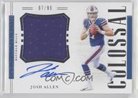 Josh Allen #/99