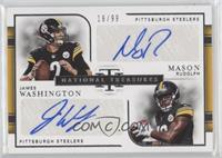 Mason Rudolph, James Washington #/99