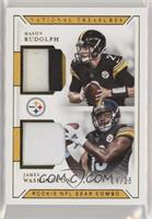 Mason Rudolph, James Washington #/25