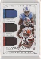 Kerryon Johnson, Ronald Jones II, Nick Chubb /99