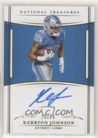 Kerryon Johnson #/25