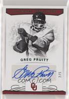 Signatures - Greg Pruitt #/5