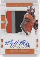 College Silhouettes Signatures - Marcell Ateman #/25