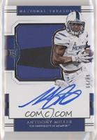 College Silhouettes Signatures - Anthony Miller /99