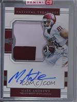 College Silhouettes Signatures - Mark Andrews /99 [Uncirculated]