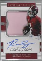 College Silhouettes Signatures - Robert Foster /99