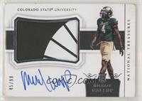 College Materials Signatures - Michael Gallup [Poor to Fair] #/99