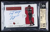 Lamar Jackson [BGS9.5GEMMINT] #/25