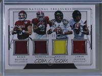 Baker Mayfield, Derrick Henry, Lamar Jackson, Marcus Mariota /99