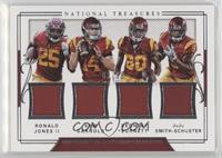 Deontay Burnett, JuJu Smith-Schuster, Ronald Jones II, Sam Darnold /99