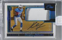 Rookie Patch Autograph - Kerryon Johnson [Uncirculated] #/99