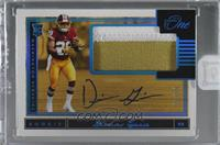 Rookie Patch Autograph - Derrius Guice [Uncirculated] #/99