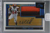 Rookie Patch Autograph - Nick Chubb [Uncirculated] #/99