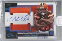 Rookie Dual Patch Autographs - Nick Chubb [Uncirculated] #/99