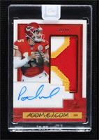 Patch Autographs - Patrick Mahomes II [Uncirculated] #/49