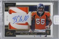 Rookie Dual Patch Autographs - Bradley Chubb [Uncirculated] #/10