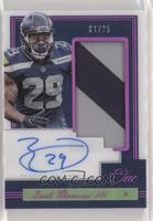Patch Autographs - Earl Thomas III #/25