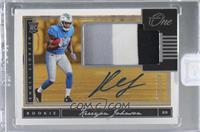 Rookie Patch Autograph - Kerryon Johnson [Uncirculated] #/199