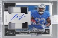 Kerryon Johnson /199 [Uncirculated]